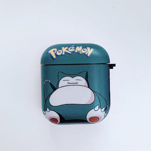 Pokemon Snorlax 'Blue' AirPods Case Shock Proof Cover