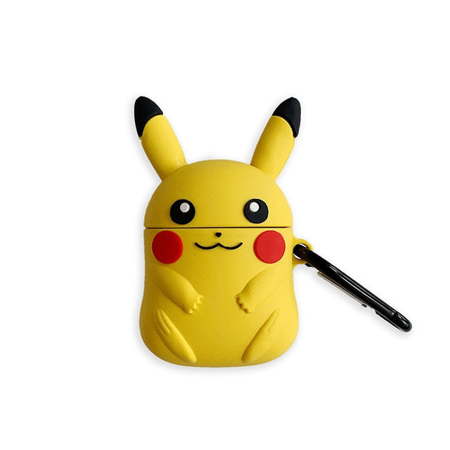 Pokemon 'Sitting Pikachu' Premium AirPods Case Shock Proof Cover