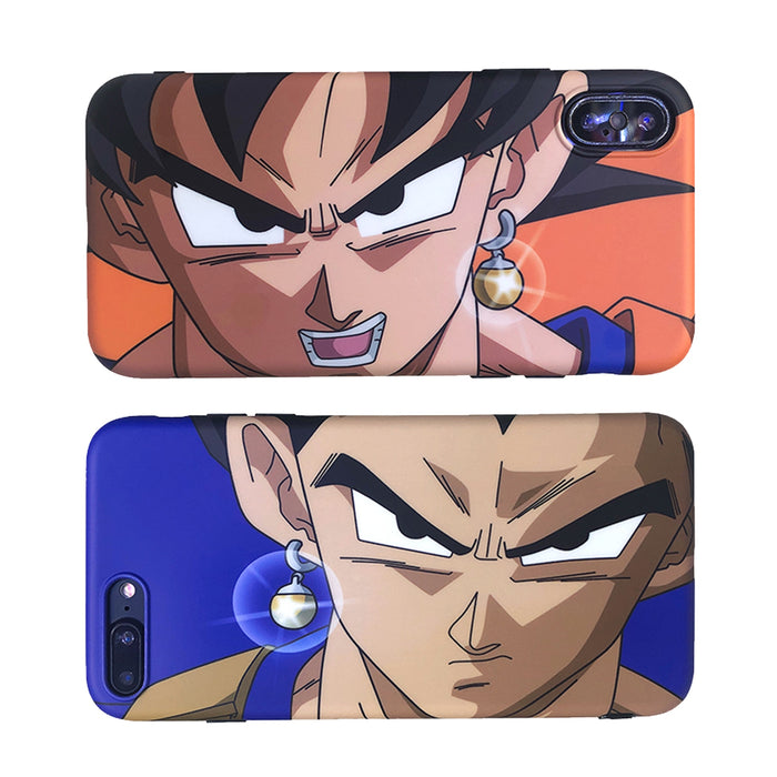 Dragon Z Vegeta Soft Cover iPhone Case for 6 6s 7 8 Plus X XS XR XSMax