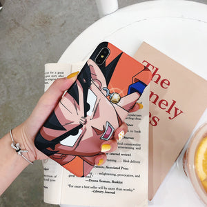 Dragon Ball Z Son Goku Soft Cover iPhone Case for 6 6s 7 8 Plus X XS XR XSMax