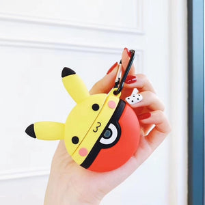 Pokemon 'Pikachu in a Pokeball' Premium AirPods Case Shock Proof Cover