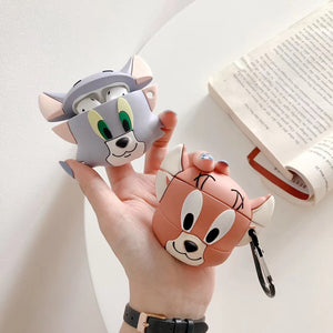 Tom and Jerry 'Cute Jerry' Premium AirPods Case Shock Proof Cover