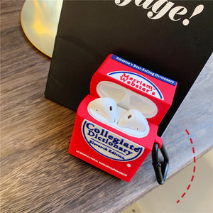 Cute Dictionary Premium AirPods Case Shock Proof Cover
