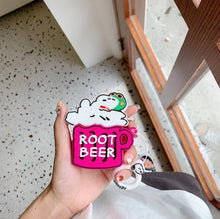 Load image into Gallery viewer, Charlie Brown 'Root Beer' Premium AirPods Case Shock Proof Cover