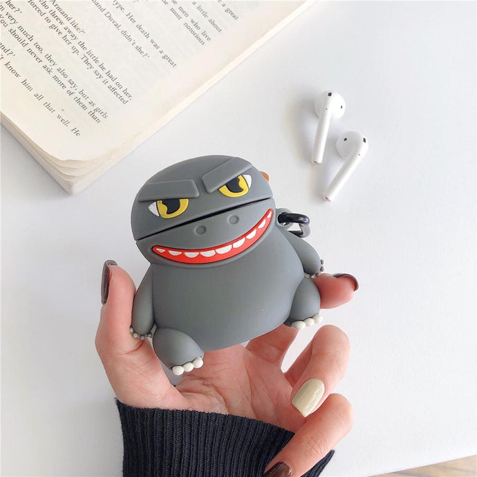 Cute Godzilla Premium AirPods Case Shock Proof Cover