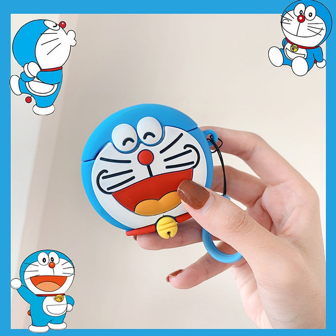 Doraemon 'Laughing' Premium AirPods Case Shock Proof Cover