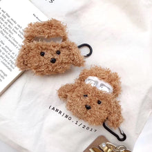 Load image into Gallery viewer, Cute Plush Furry Doggy Premium AirPods Case Shock Proof Cover