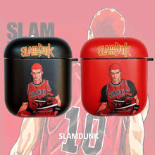 Load image into Gallery viewer, Slam Dunk 'Sakuragi Hanamichi' AirPods Case Shock Proof Cover