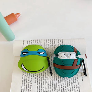 Teenage Mutant Ninja Turtles 'Leonardo' Premium AirPods Case Shock Proof Cover
