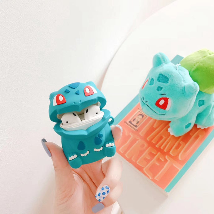 Pokemon 'Sitting Bulbasaur' Premium AirPods Case Shock Proof Cover
