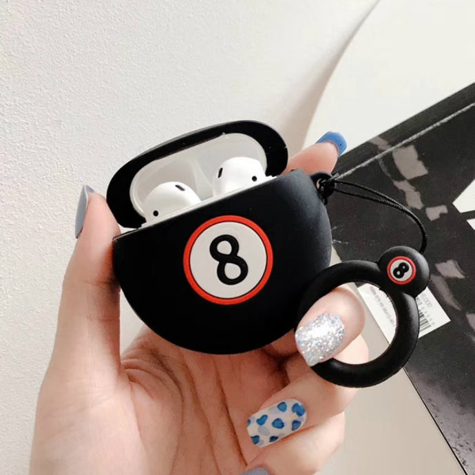 8 Ball Premium AirPods Case Shock Proof Cover