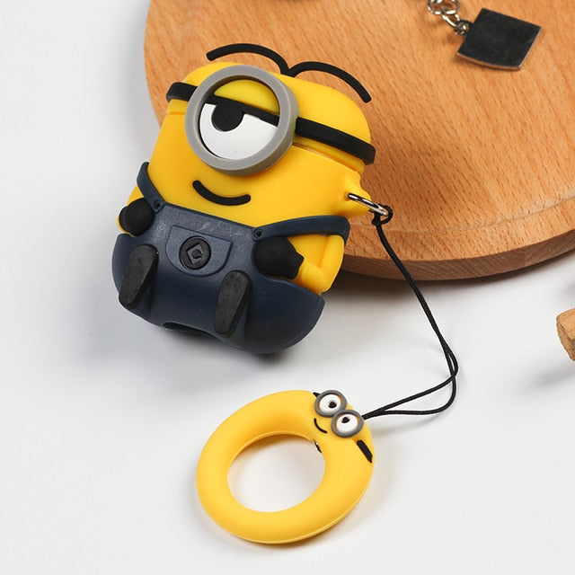 Minions 'Black Trousers' Premium AirPods Case Shock Proof Cover
