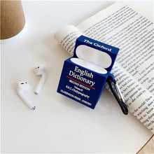 Load image into Gallery viewer, Cute Oxford Dictionary Premium AirPods Case Shock Proof Cover