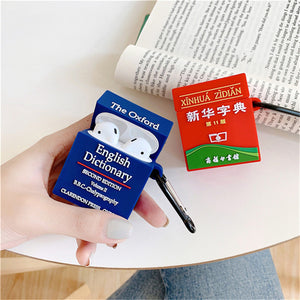 Cute Oxford Dictionary Premium AirPods Case Shock Proof Cover