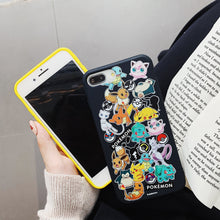 Load image into Gallery viewer, Pokemon 'Catch Em All' Soft Cover for iPhone 6 6s 7 8 Plus X XS XR XSMax 11 Pro Max