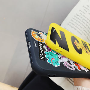 Pokemon 'Catch Em All' Soft Cover for iPhone 6 6s 7 8 Plus X XS XR XSMax 11 Pro Max