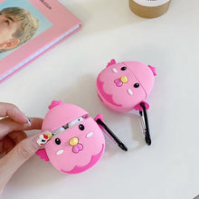 Load image into Gallery viewer, Cute Pink Chicken Premium AirPods Case Shock Proof Cover