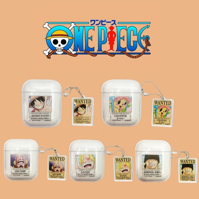 One Piece Clear AirPods Case Shock Proof Cover