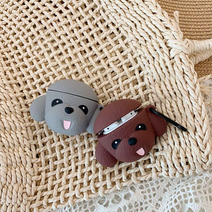 Cute Dog 'Poodle' Premium AirPods Case Shock Proof Cover