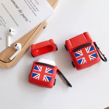 Load image into Gallery viewer, Mini Cooper with British Flag Premium AirPods Case Shock Proof Cover