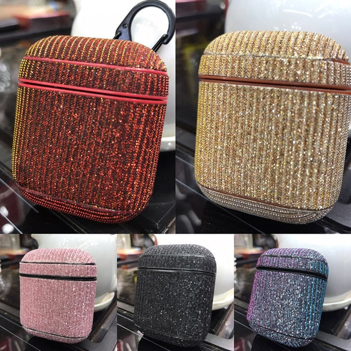 Cute Glitter AirPods Case Shock Proof Cover