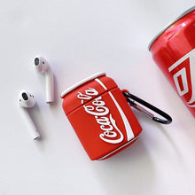 Load image into Gallery viewer, Coca Cola Premium AirPods Case Shock Proof Cover