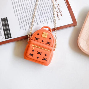 Cute Backpack Premium AirPods Case Shock Proof Cover