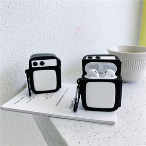Retro TV Premium AirPods Case Shock Proof Cover
