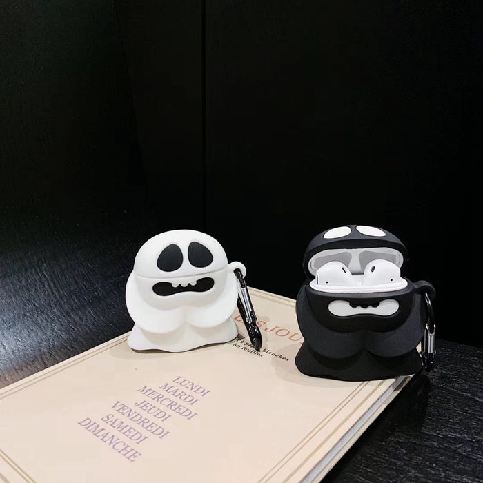 Cute Spooky Ghost Premium AirPods Case Shock Proof Cover
