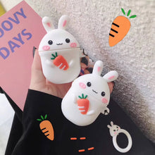 Load image into Gallery viewer, Bunny Holding a Carrot Premium AirPods Case Shock Proof Cover
