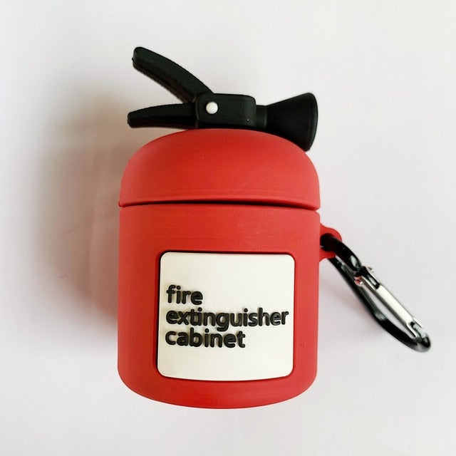 Fire Extinguisher Premium AirPods Case Shock Proof Cover