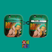 Load image into Gallery viewer, One Piece 'Roronoa Zoro' AirPods Case Shock Proof Cover