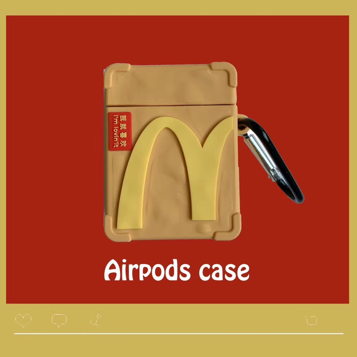 Chicken Nugget Box Premium AirPods Case Shock Proof Cover