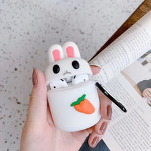 Load image into Gallery viewer, Unimpressed Bunny Premium AirPods Case Shock Proof Cover