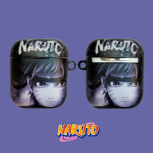 Load image into Gallery viewer, Naruto 'Sasuke' AirPods Case Shock Proof Cover