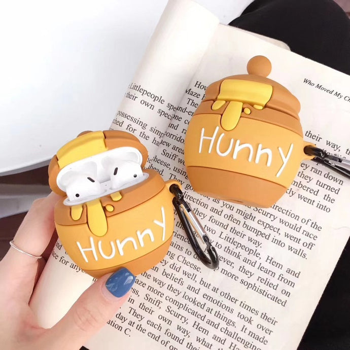 Winnie the Pooh 'Hunny Pot' Premium AirPods Case Shock Proof Cover