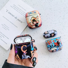 Load image into Gallery viewer, One Piece 'Luffy Attack' AirPods Case Shock Proof Cover