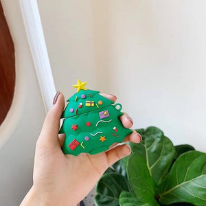 Christmas Tree Premium AirPods Case Shock Proof Cover
