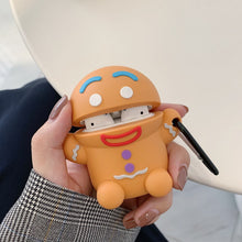 Load image into Gallery viewer, Cute Gingerbread Man Premium AirPods Case Shock Proof Cover