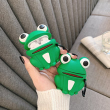Load image into Gallery viewer, Worried Frog Premium AirPods Case Shock Proof Cover