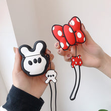 Load image into Gallery viewer, Minnie Mouse 'Bow' Premium AirPods Case Shock Proof Cover