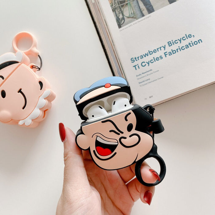 Popeye Premium AirPods Case Shock Proof Cover