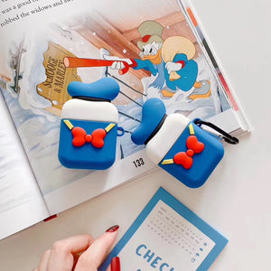 Donald Duck 'Hat and Bow' AirPods Case Shock Proof Cover