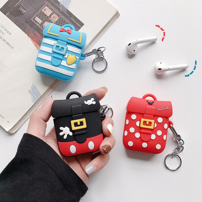Cute Donald Backpack Premium AirPods Case Shock Proof Cover