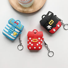 Load image into Gallery viewer, Cute Donald Duck Backpack Premium AirPods Case Shock Proof Cover