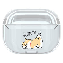 Load image into Gallery viewer, Cute Dog Clear Acrylic AirPods Pro Case Shock Proof Cover