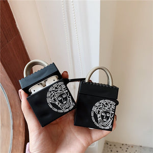 Versace Handbag Premium AirPods Case Shock Proof Cover