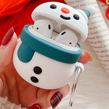 Load image into Gallery viewer, Cute Snowman Premium AirPods Case Shock Proof Cover