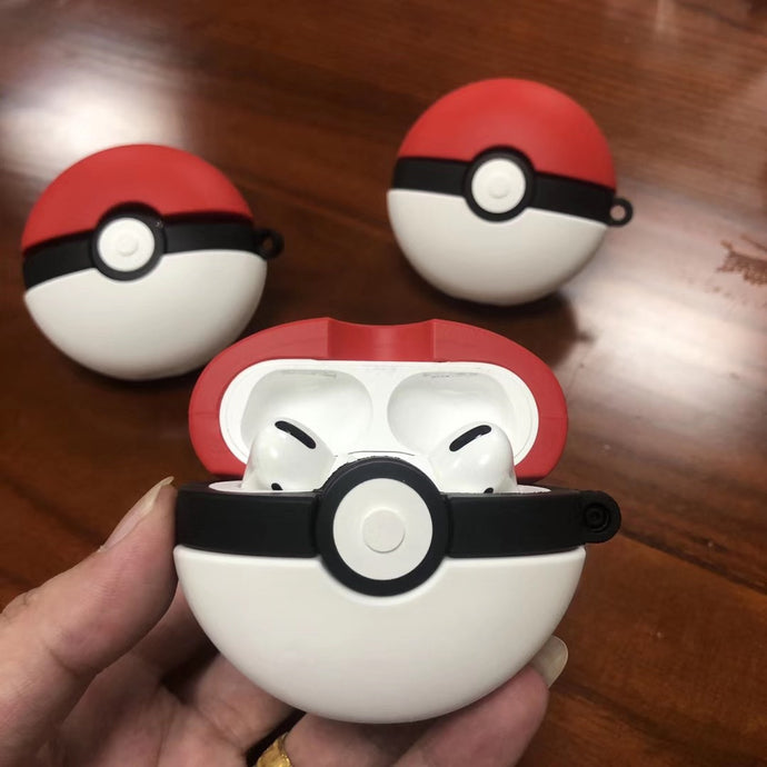 Pokemon 'Pokeball' Premium AirPods Pro Case Shock Proof Cover