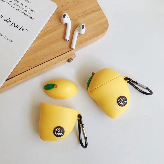 Mango Premium AirPods Case Shock Proof Cover
